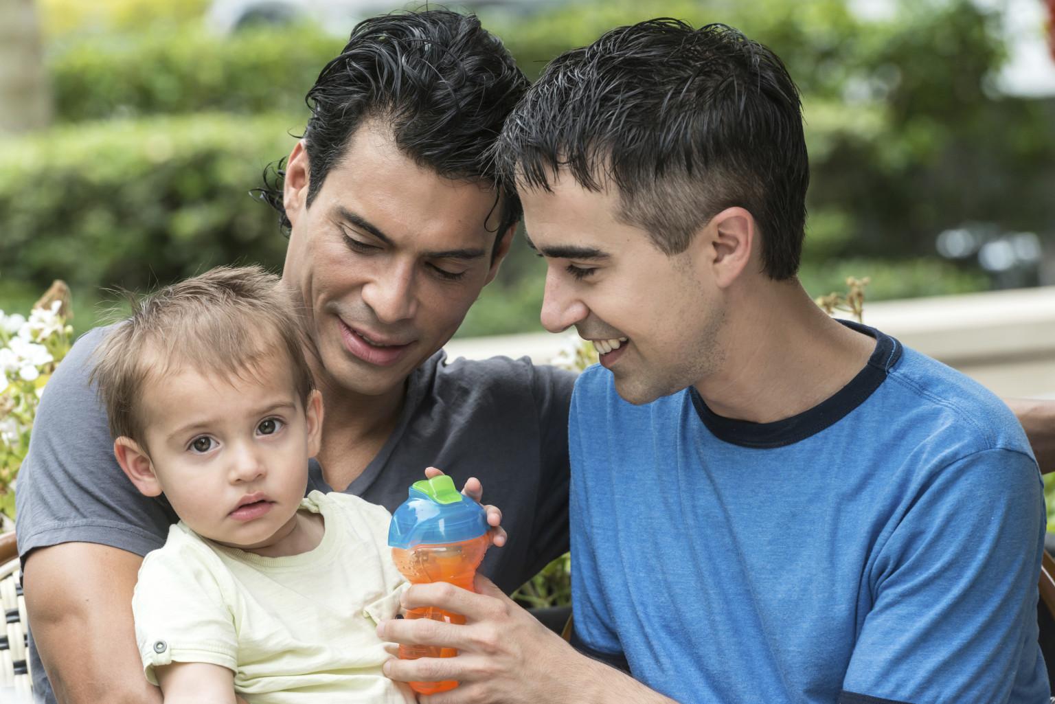 Gay family members