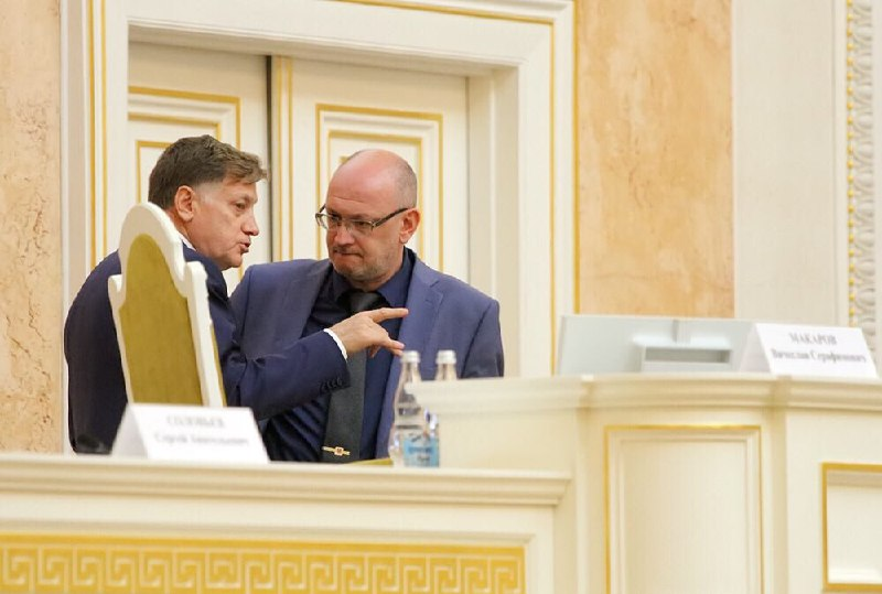 Вячеслав Макаров и Максим Резник.