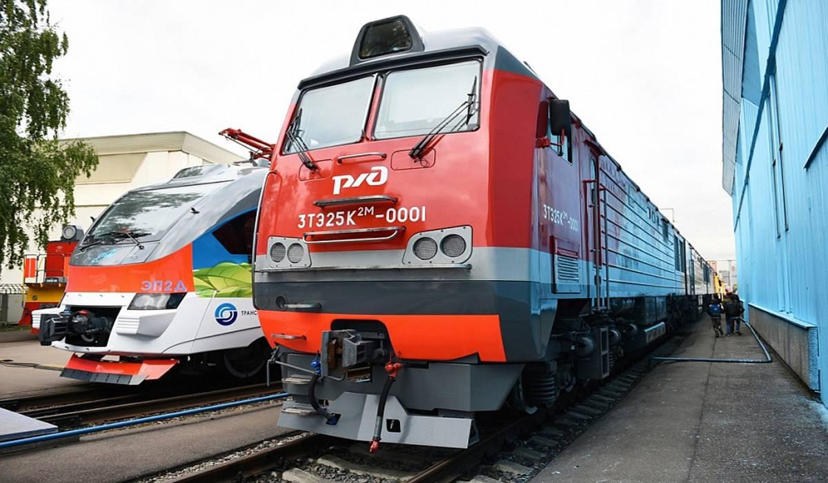 ОАО «РЖД» к 2025 году собирается полностью обновить парк локомотивов на Транссибе и БАМе