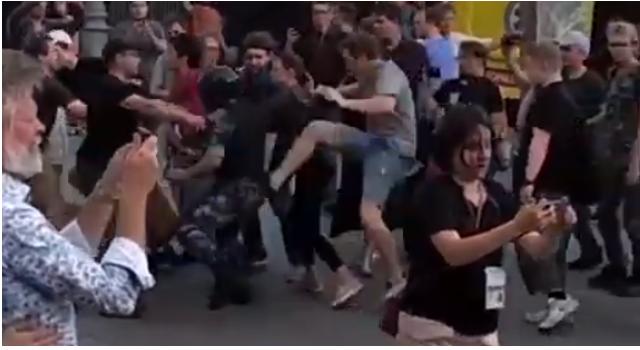 Журналисты НТВ нашли новых провокаторов, виновных в массовых беспорядках в Москве
