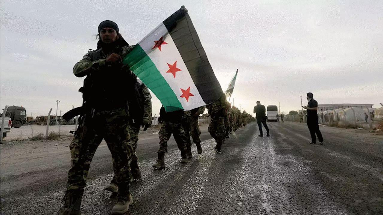 Курды не пустили русских в город Табка