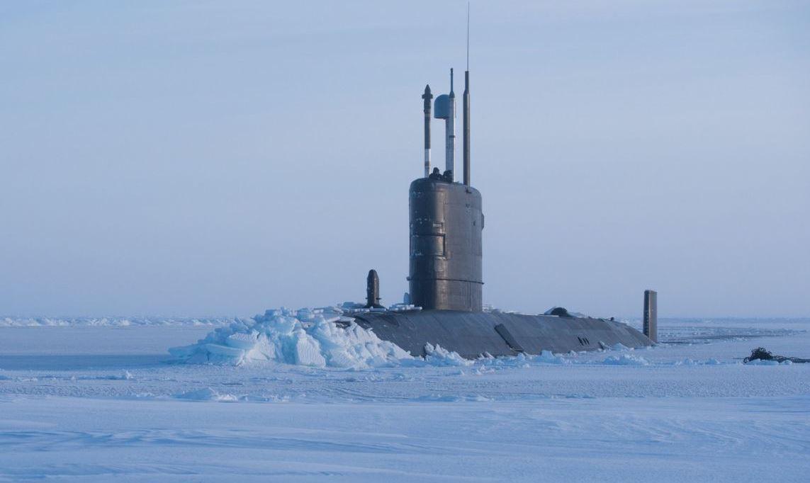 США – подлёдный лов удачи в Арктике