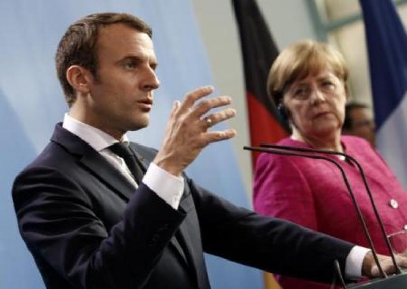 Макрон о Меркель: бедная Ангела все проспала и довела НАТО до «смерти мозга». Она не согласилась
