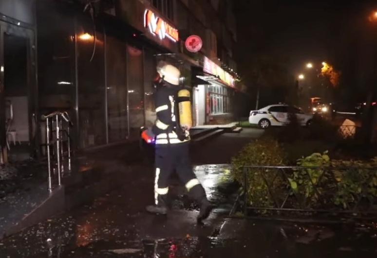 В Киеве кто-то по ночам поджигает магазины