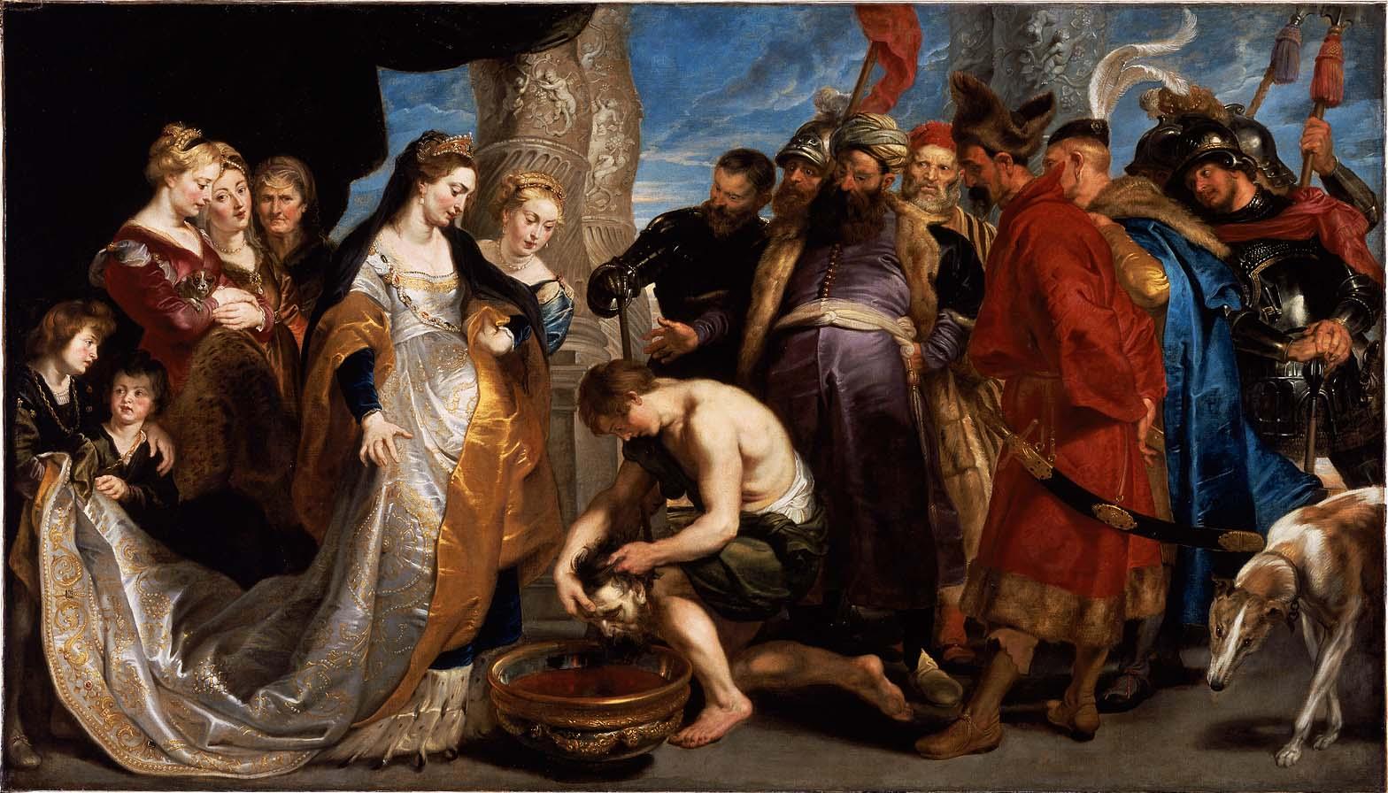Картина Питера Рубенса (примерно 1622-1623 гг.)
