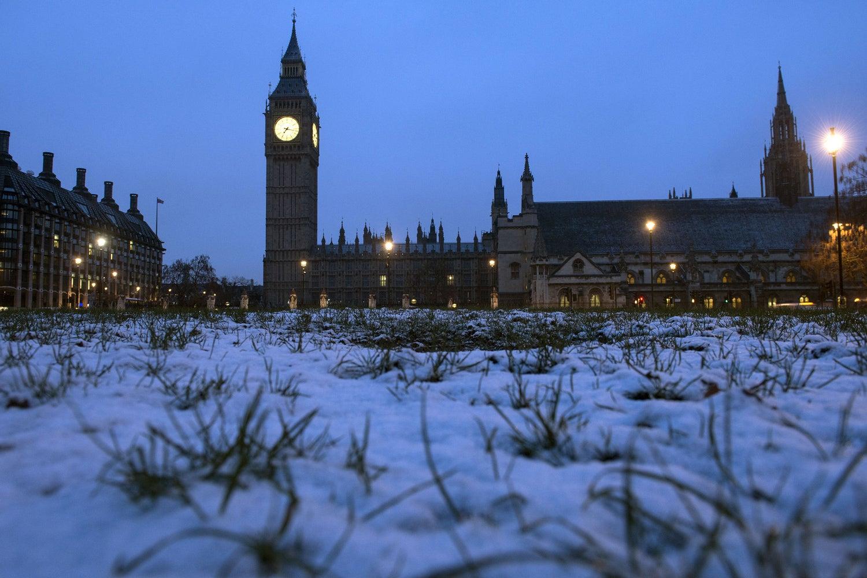 флот вас лондон в январе фото несколько