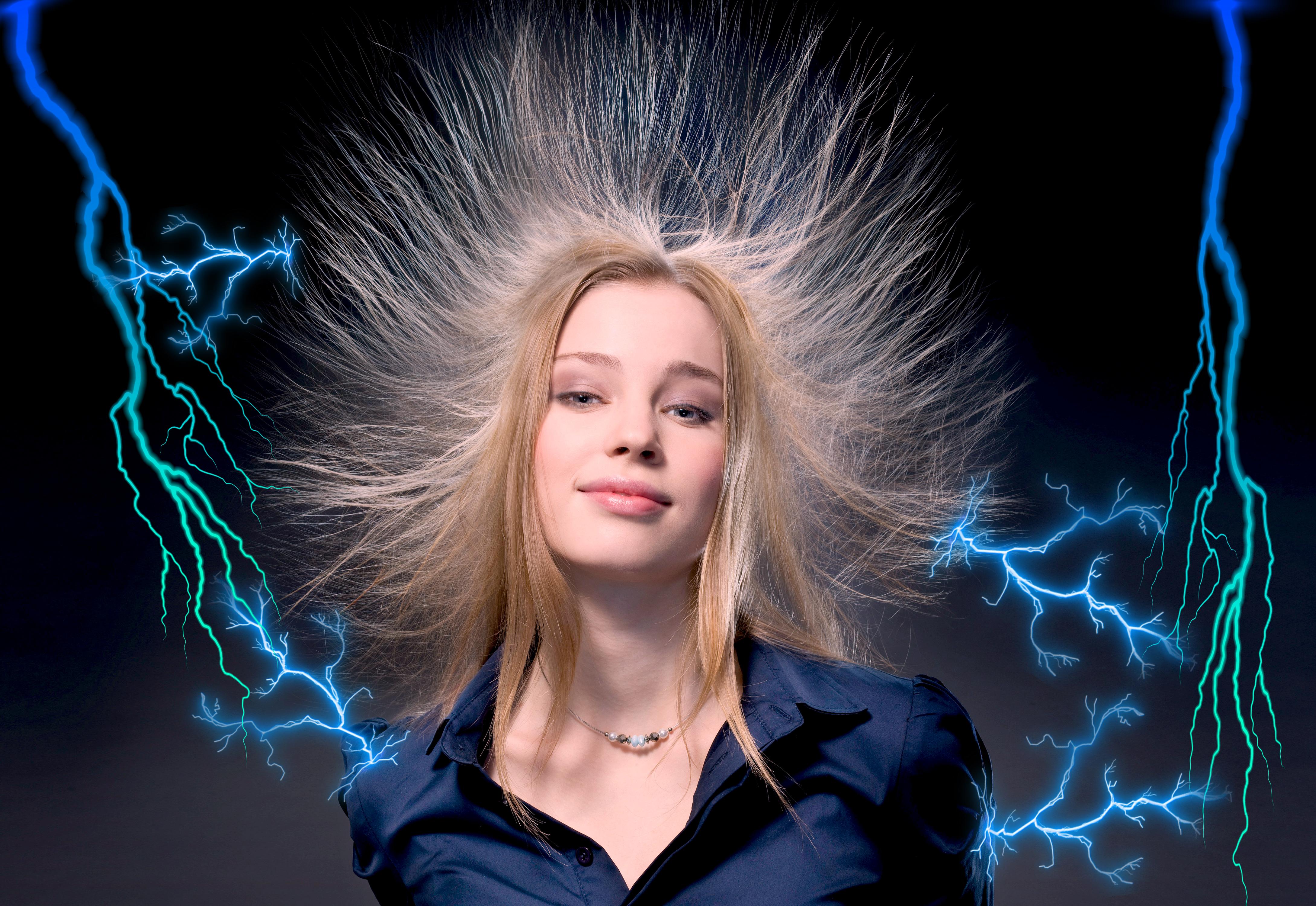 статическое электричество в картинками