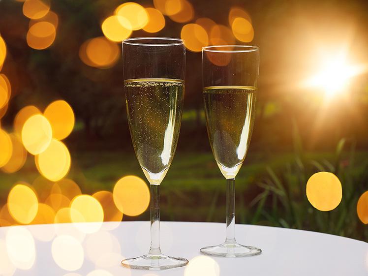 Интересный факт о шампанском