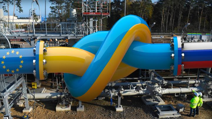 С 1 января 2020 года транзит газа через Украину