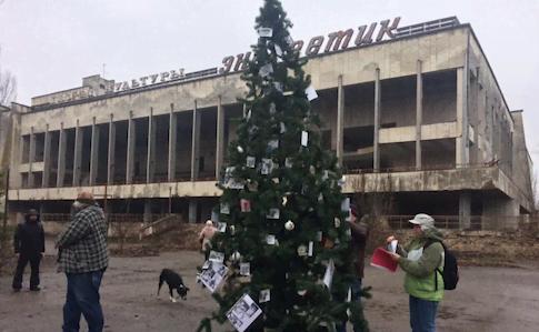 Чернобыльская елочка и шестиногие ежики
