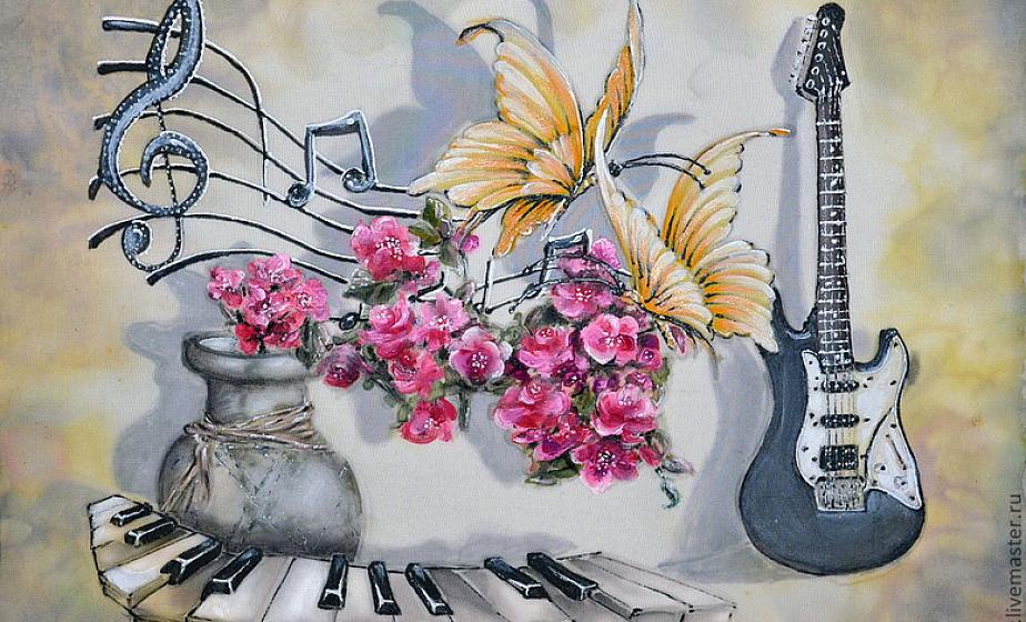 экзотики рисуем музыку в картинках освоит любой, кто