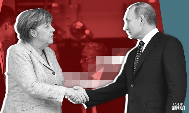 Меркель поднимает ставки перед встречей в Париже