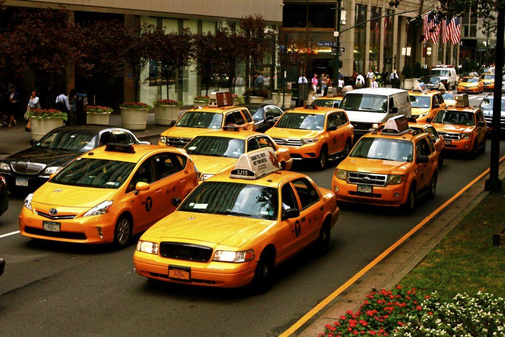 Нью йоркское такси картинки