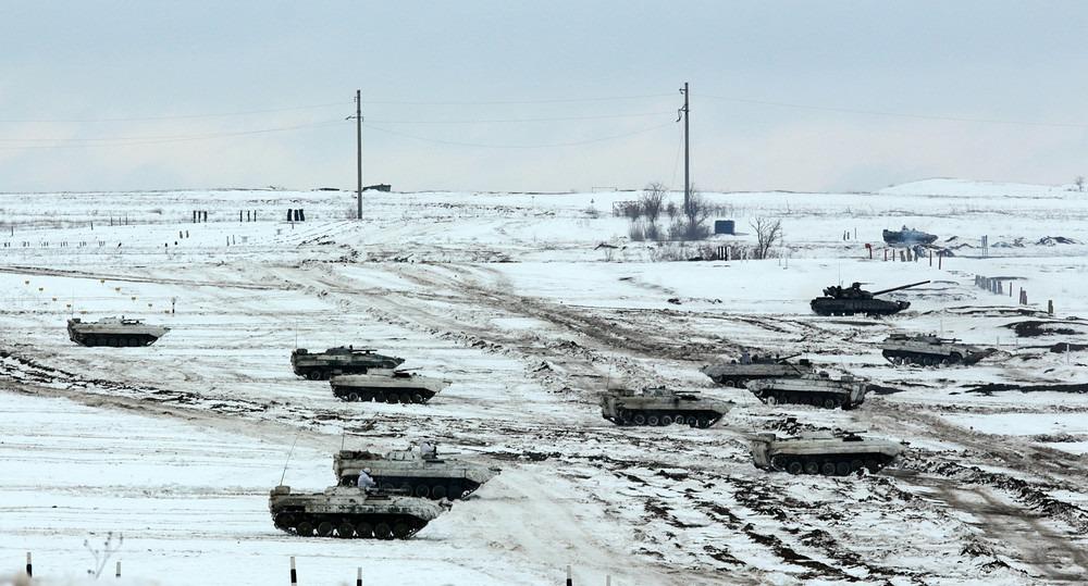 Учения в Луганской Народной Республике