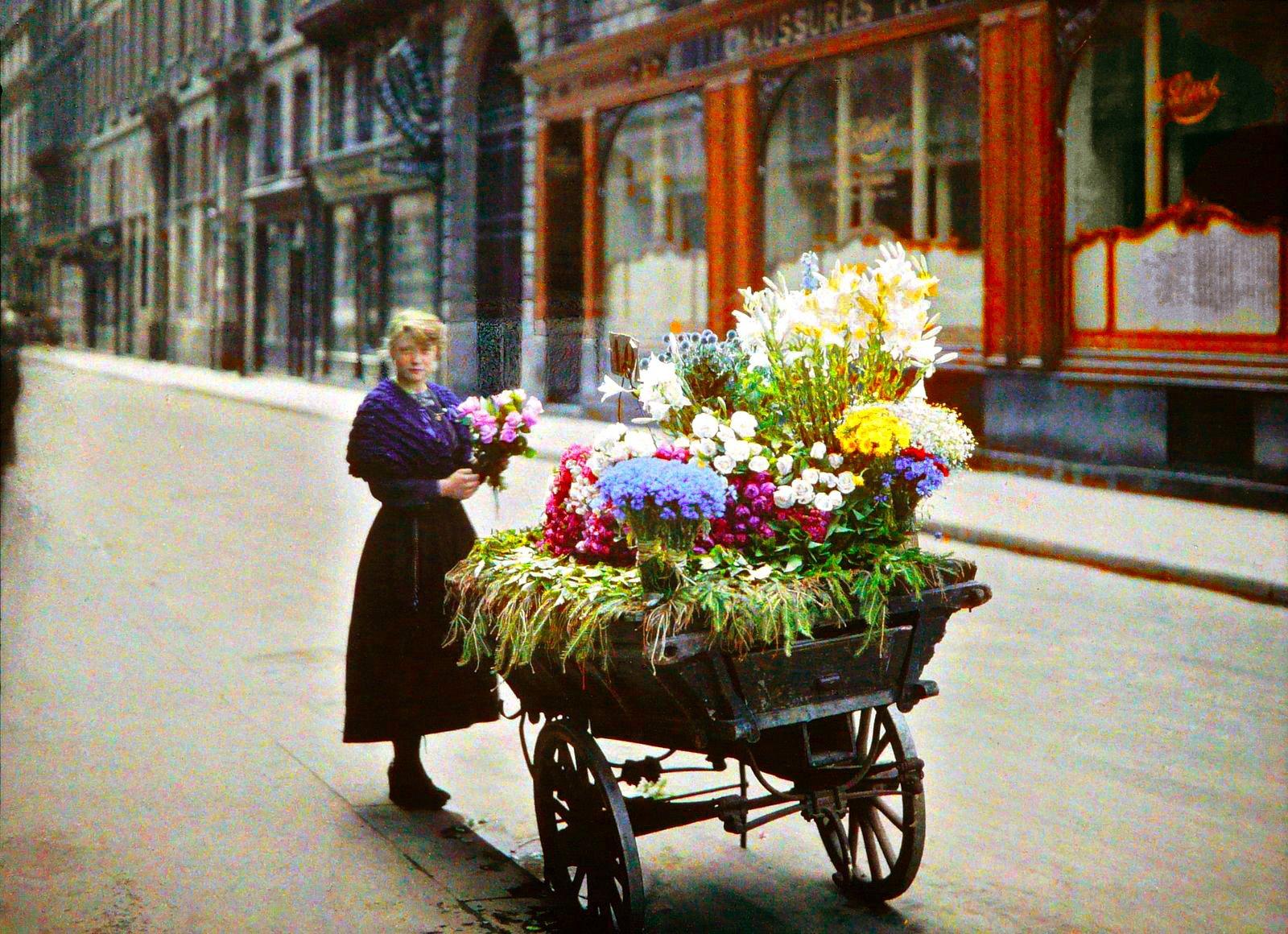 картинка продавщица цветов на улице сами замечают