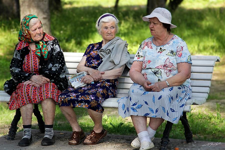 Прикольные картинки старушек молодушек