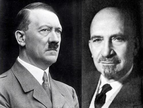 А.Гитлер и Х.Вейцман.