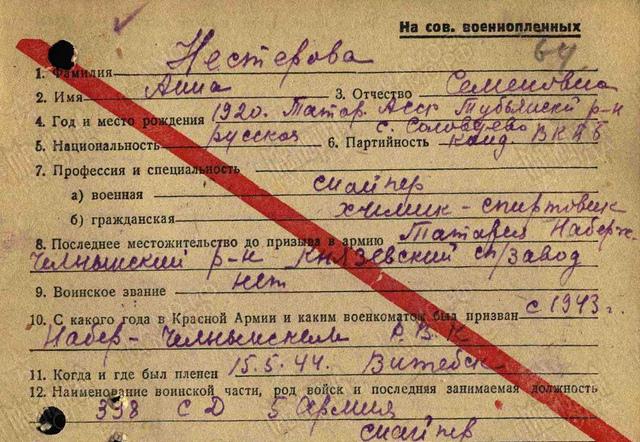 Сказ о военной тайне, о советских девчонках и их твердом слове