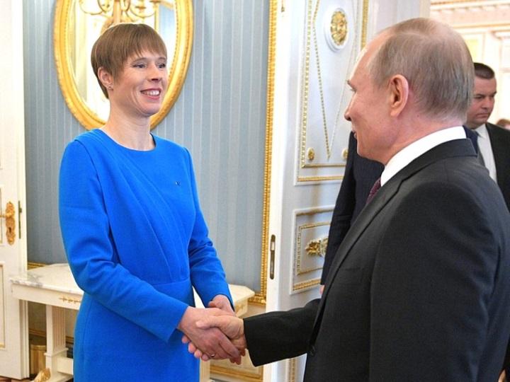 Президент Эстонии после встречи с Путиным