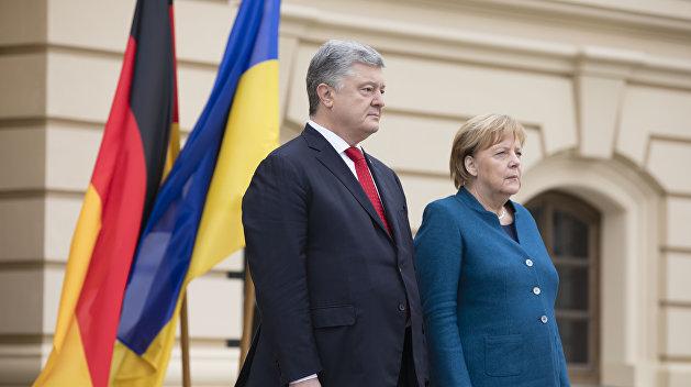 Ставка Меркель. Германия — за Порошенко и против Украины
