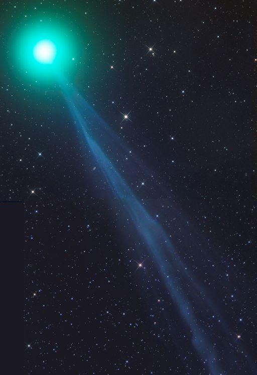 28.12.2014. Красивейшее космическое представление - комета Lovejoy