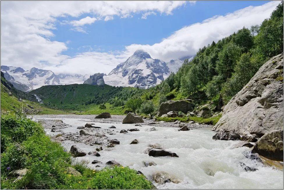 9ad589cf634 Река Адылсу. Кабардино-Балкария. Россия