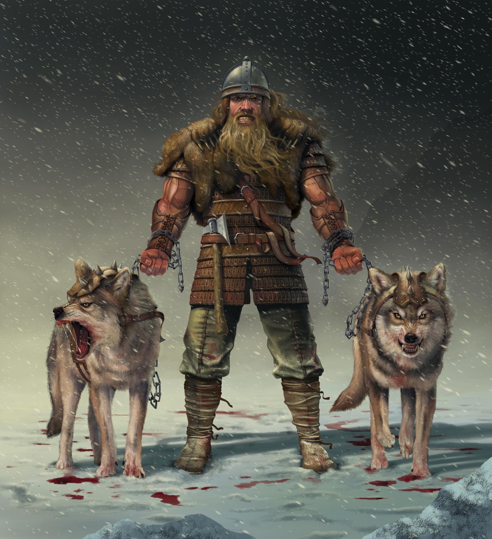 Волк воин картинки