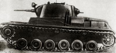 Т-111, изделие 111, известен также как Т-46-5 — сверхсекретный экспериментальный средний танк. Являлся первым советским танком с противоснарядным бронированием.  Лобовая и бортовая броня - 60 мм.
