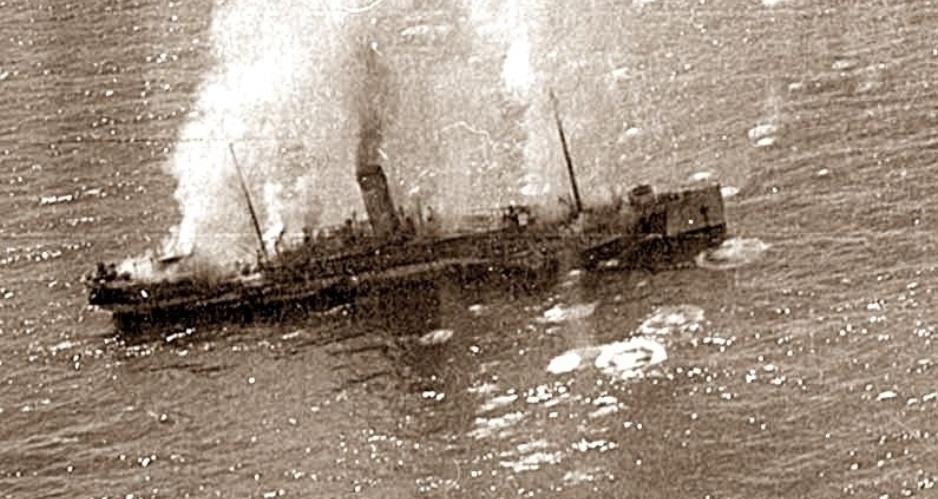 Конец «Тотилы» и «Теи»: крупнейшая победа наших ВВС на Черном море