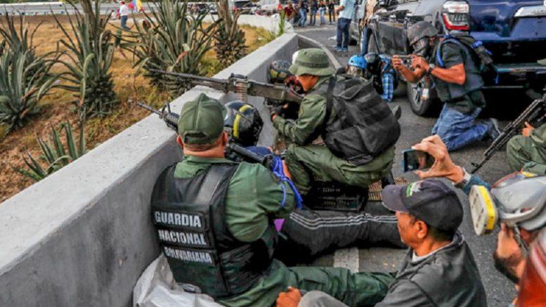 Как Мадуро удалось подавить военный переворот
