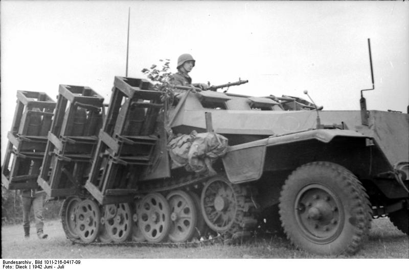 Wurfrahmen 40 на базе Sd Kfz 251