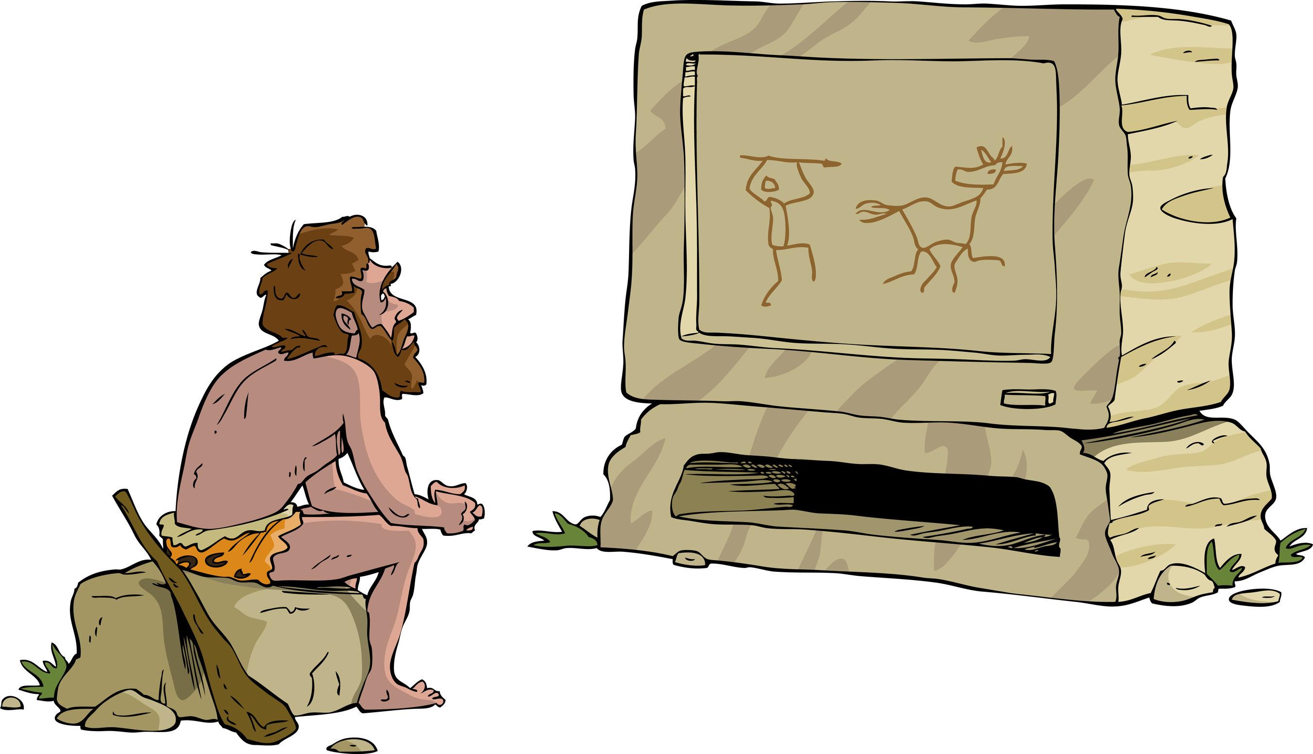 Древние люди прикольные картинки