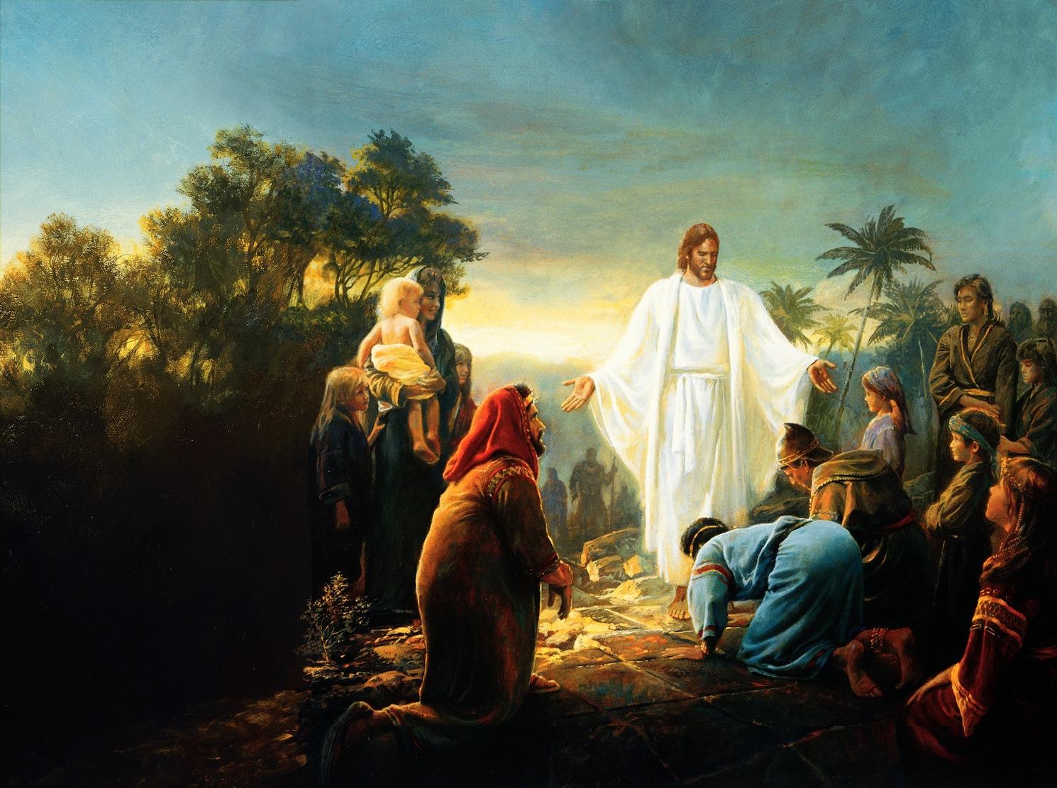 Картинки из евангельских притч рассказывается о человеке