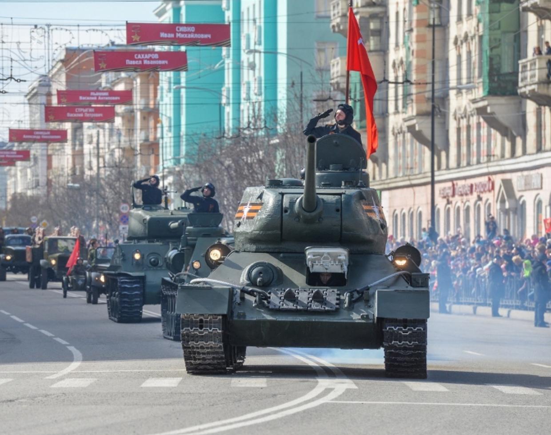 9 мая 2019 г. Город-герой Мурманск. Парад Победы!