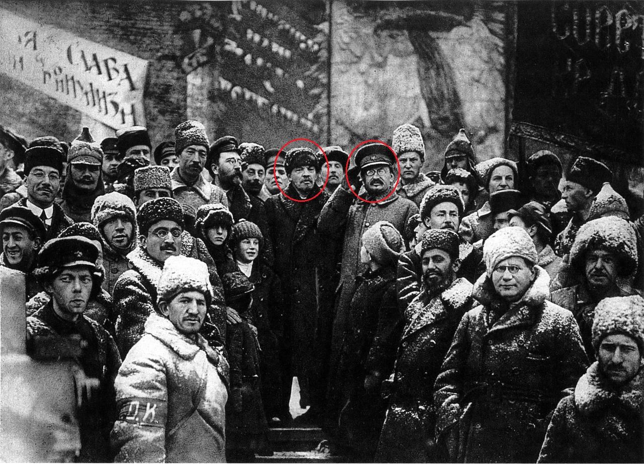 Фотография 1918 года.