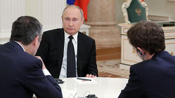 Британский журналист поделился впечатлениями от интервью с Путиным