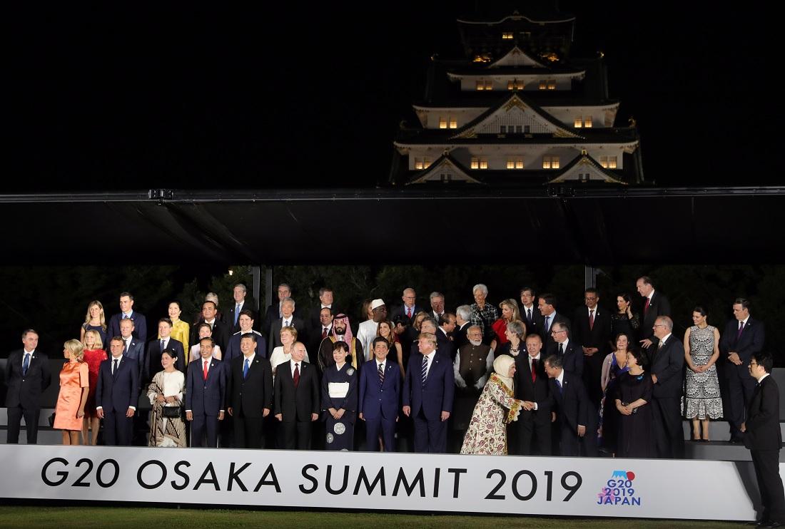 G-20 глазами фотографов
