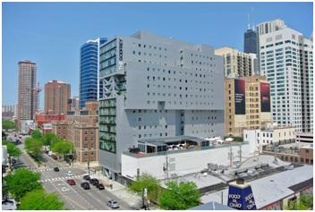 Отель Godfrey в Чикаго