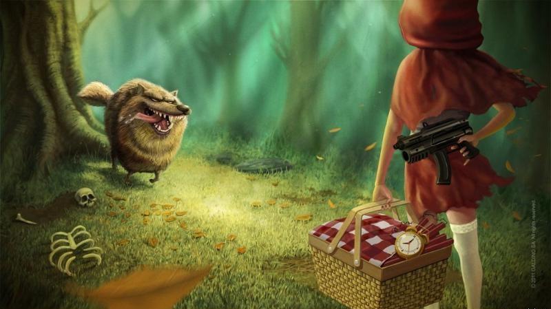 Открытки горчаков, смешные картинки красная шапочка и волк
