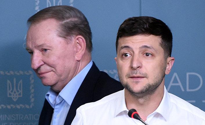 Донбасс, Кучма, Зеленский и истерика Порошенко