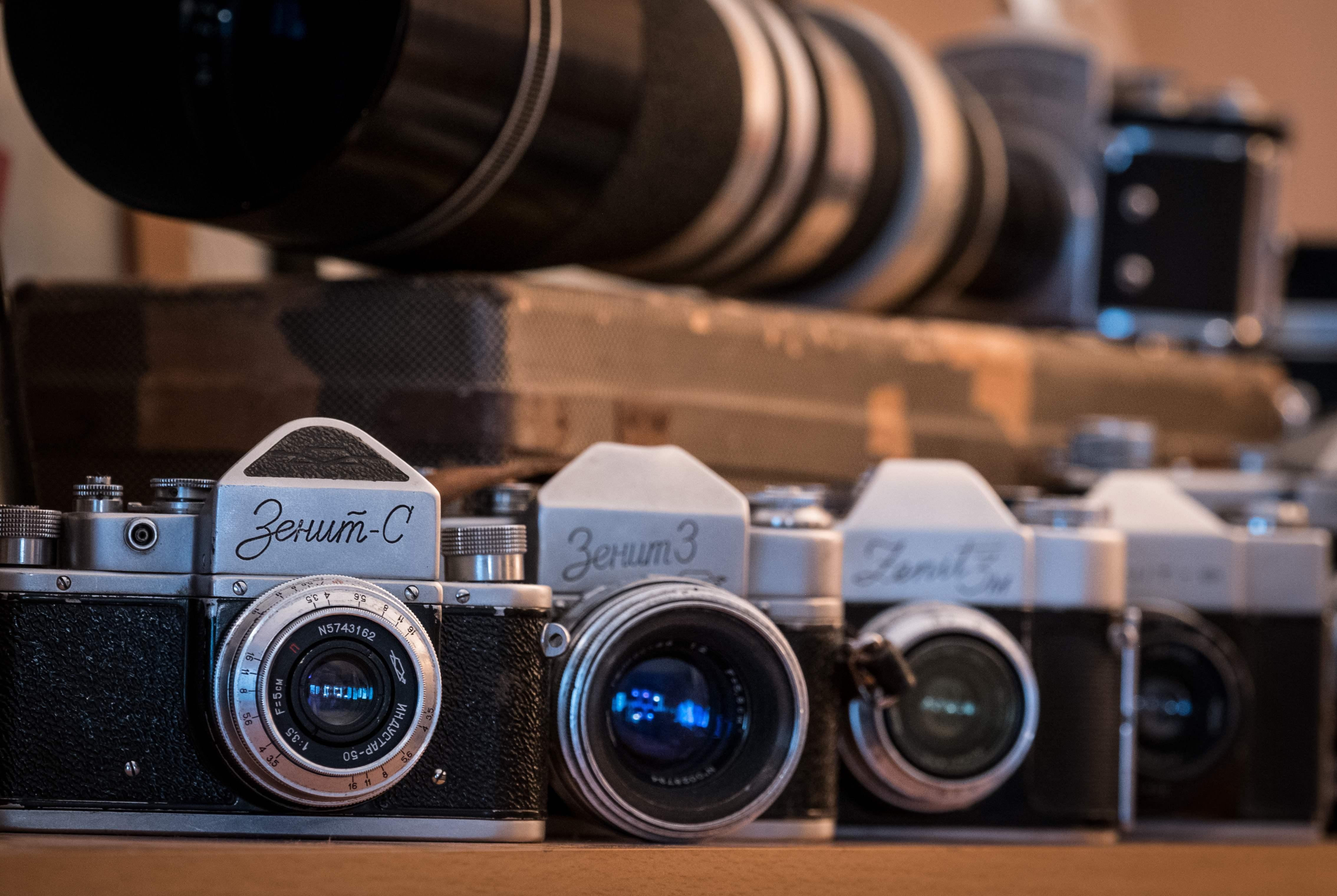 эти новости о фотоаппаратах зенит этого вплотную стенам