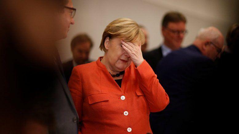 Меркель теряет здоровье и власть