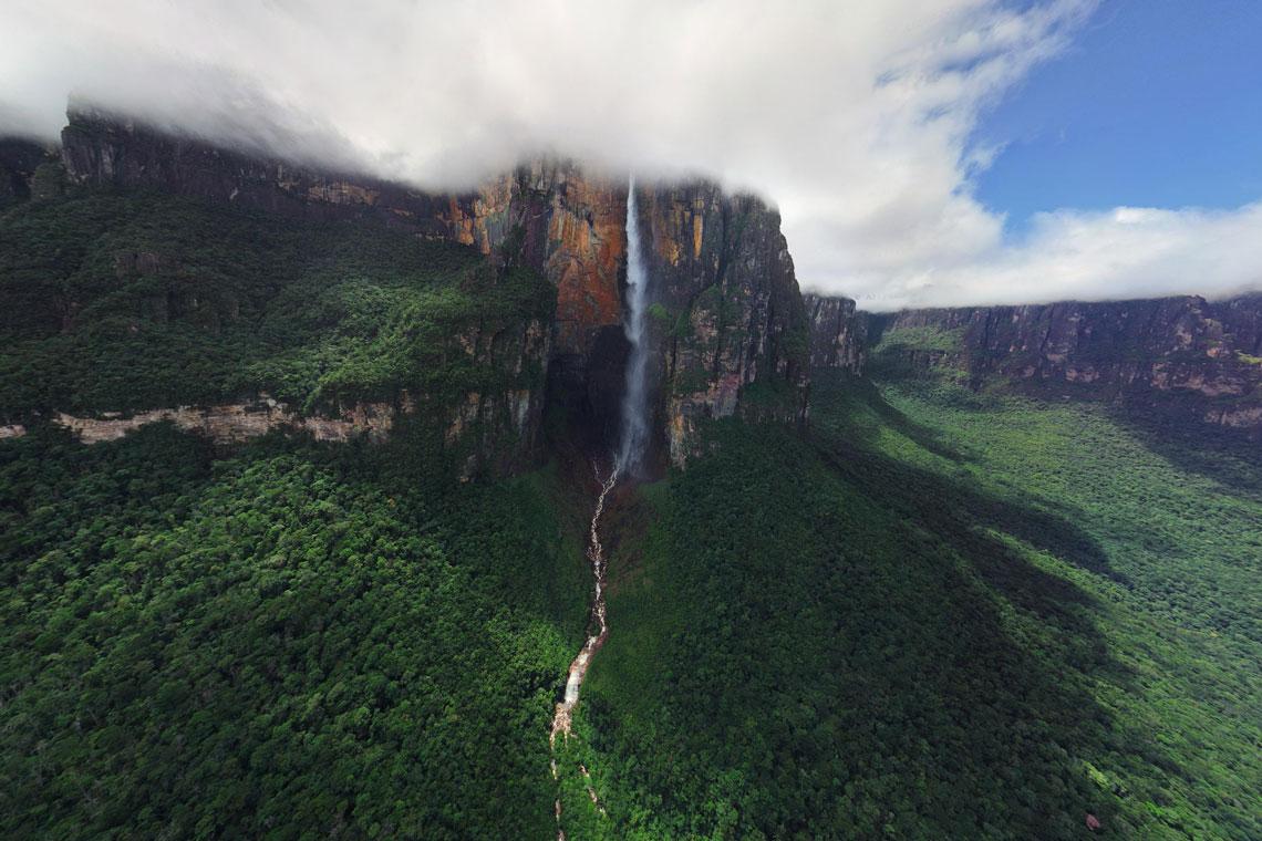 Фото водопад анхель в высоком разрешении