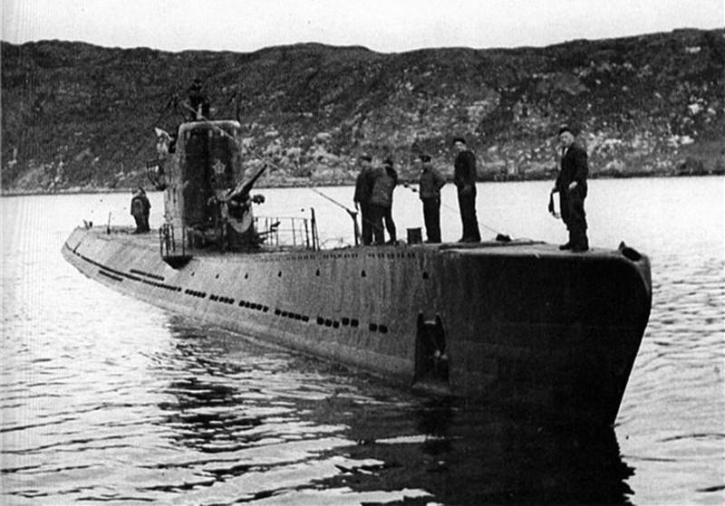 Моряки подводники