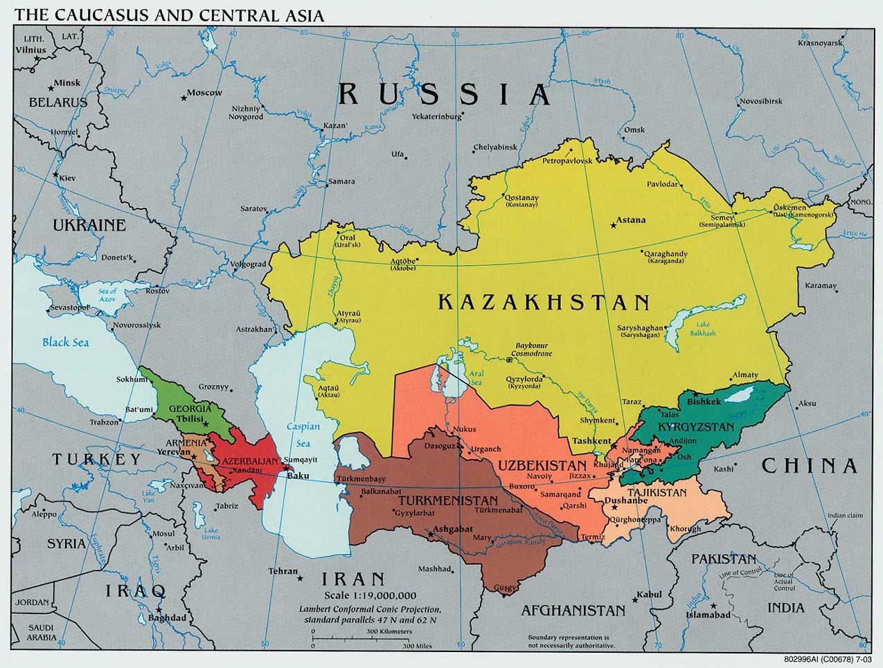 Средняя Азия: конец эпохи многовекторности