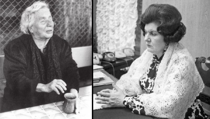 Ванга и Наталья Бехтерева.