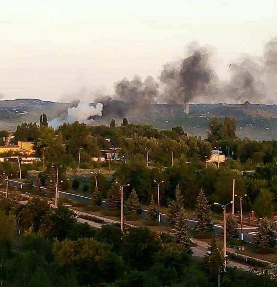 В гибели мирного жителя Первомайска и ранении семи гражданских, виновен командир 54-й бригады ВСУ полковник Майстренко А.С.