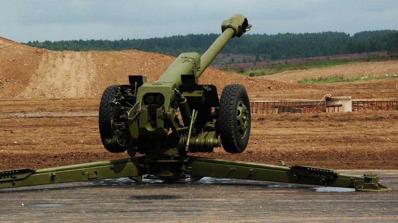 Артиллерийские орудия в картинках