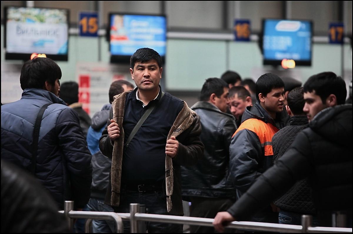В ФСБ раскрыли число трудовых мигрантов впервые