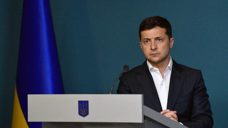 «Президент Украины Владимир Зеленский не включен в список»